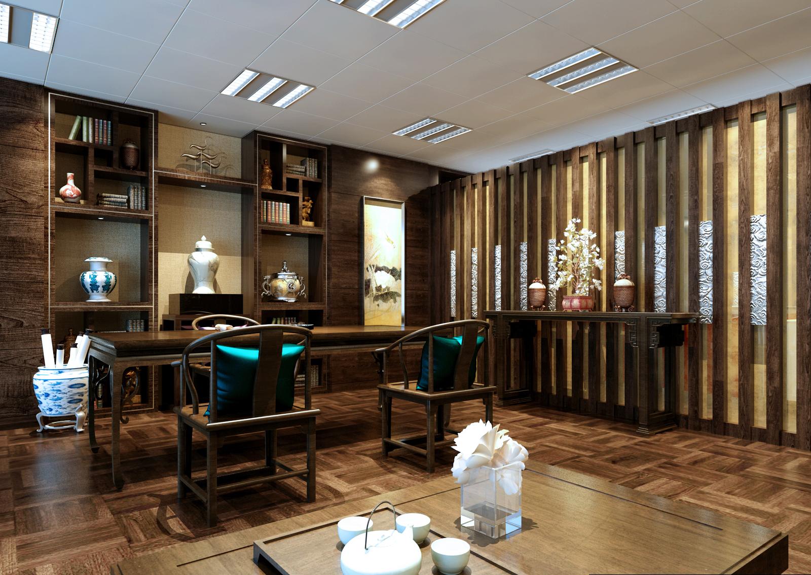 办公室装修中还有新潮风格的,它和时代结合比较密切,这在很多设计性