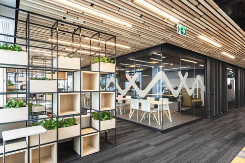 时尚创意办公室装修效果图