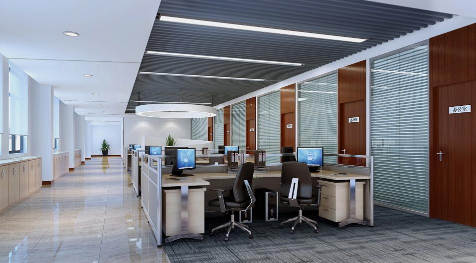 现代简约办公室装修效果图【图集汇总】