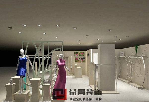 简约风格服装店装修设计