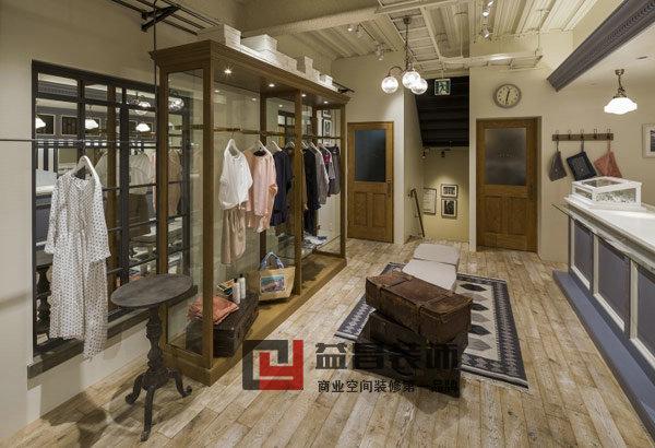 欧式风格女装店铺装修案例
