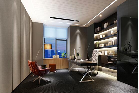 现代化办公室装修还有那些其他注意事项: 1.天花板:现代办公室装修风格的天花用材上大都比较简单,常采用石膏板、矿棉板或铝扣板天花,一般只会在装修重点部位(如接待区、会议室)做一些石膏板造型天花,其他部位大多不作造型处理。铝扣板天花会增加一些现代感,但造价要比矿棉板天花高得多,两者的优点都是便于机电工程的维修。