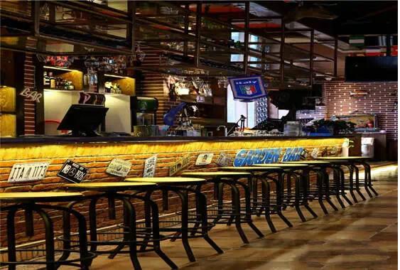 400平米酒吧裝修設計效果圖-休閑區