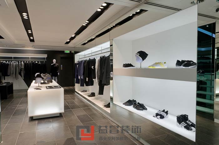 南昌服装店装修效果图_南昌工装公司专家,提供最新工