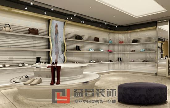 時尚女鞋店裝修效果圖